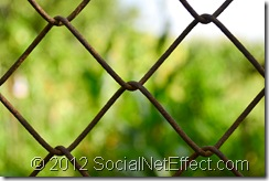 stockvault rusty fence131036 thumb Social Net Effect Revisited